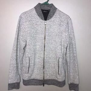Marc Anthony Men's Sweat Jacket Size M Color Gray
